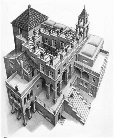 Escher Ascending and_Descending